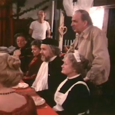 Ingmar Bergman ohjaa Fannya ja Alexanderia