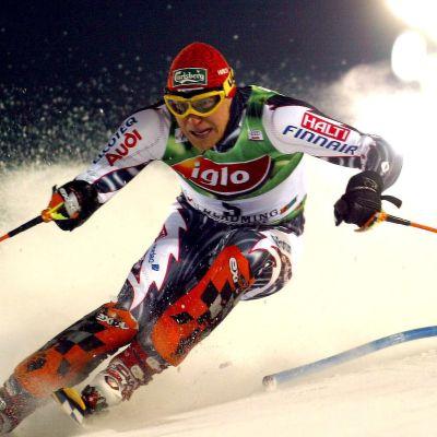 Kalle Palander, alpin skidåkare