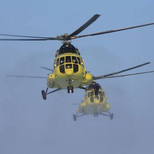 Olyckshelikoptern var en transporthelikopter av typen MI-8. Alla 18 personer ombord omkom