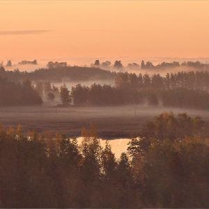 Syysaamu Itäisen Suomenlahden saaristossa.