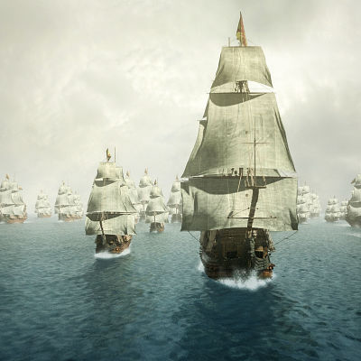 Espanjan suuri armada purjehtii