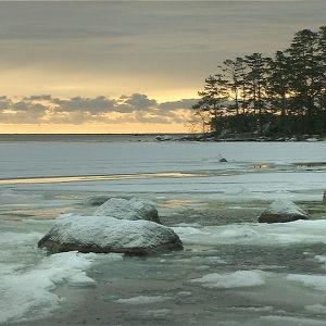 Talvi Itäisellä Suomenlahdella.
