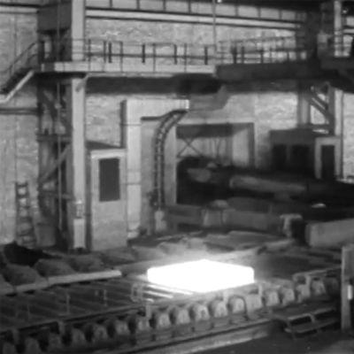 Kuvaa Rautaruukin tehtaalta