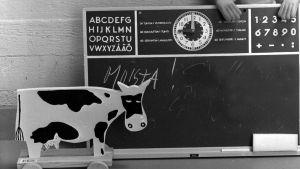 Liitutaulu ja puuleluja 1960-luvulla