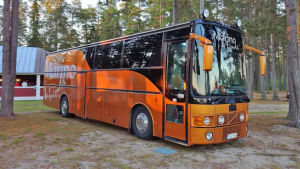 dansbandet San Marino & Lindas turnébuss