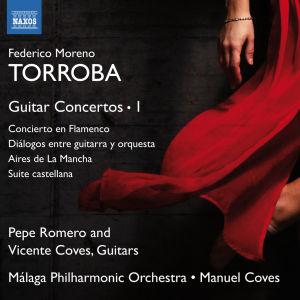 Federico Moreno Torroban musiikkia sisältävän levyn kansikuva.
