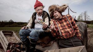 Kverulanten sätter potatis med bästa vännen/grannen.