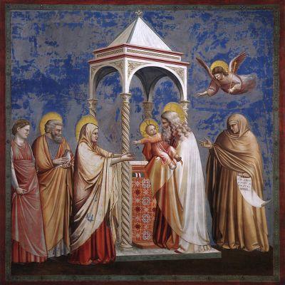 Giotto: Kristuksen temppeliinkäynti