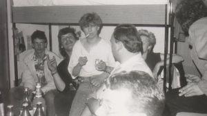 Juhlintaa DDR:n nuorisokorkeakoulussa 1980-luvulla.