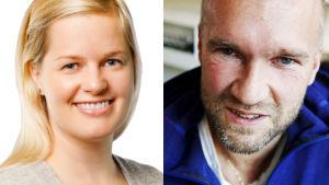 Idrottspsykologerna Hannaleena Ronkainen och Göran Kenttä.