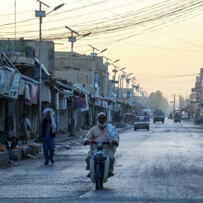 Katunäkymä Kandaharista.