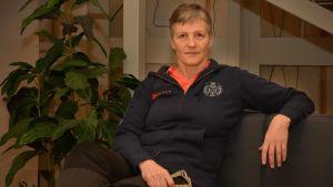 Kerstin Rehnström i Sportmåndag 16.11.2015