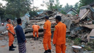 Minst 550 doda i jordskalv