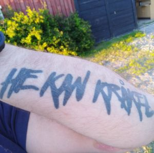 Tatuering He kan Kråkel