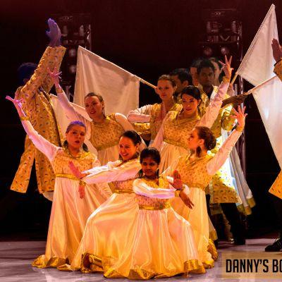 Bollywood-tanssiryhmä