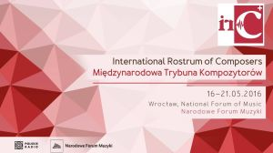 International Rostrum of Composers 2016