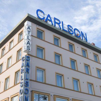 Kuopion keskustan Carlsonin rakennus.