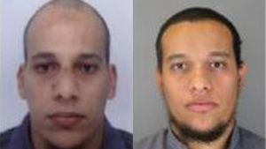Misstänkta för Charlie Hebdo-dådet.