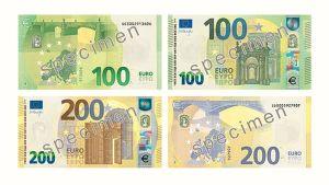 Nya eurosedlar