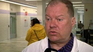 Markku Broas, infektionsöverläkare