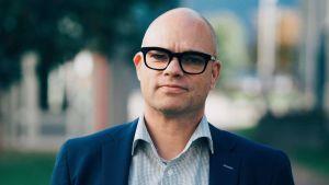 Juha Pantzar på Garanti-Stiftelsen.