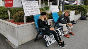 protest mot försäkringsbolag