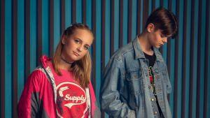 Desireé Kavander och Christoffer Rönnholm spelar Isa och Danne.