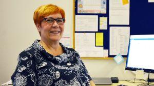 Helena Nurmikoski, sysselsättningschef vid Vasa stad.