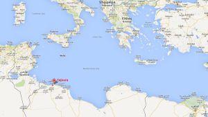 Skärmdump från Google kartor.