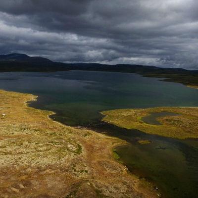 Somasjärvi nära Halde fjäll