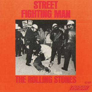 Det amerika nska omslaget till Rolling Stones-singeln Street Fighting Man