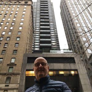 Henrik Dettmann New Yorkissa.