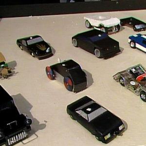 Sähköautokilpailu Festa-nuorisomessuilla