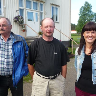 Bror Eriksson, Tomas Teir och Nina Ingves