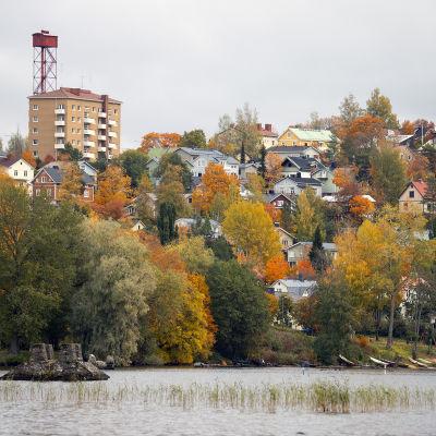 Syksyinen Tampere ja Pispala.