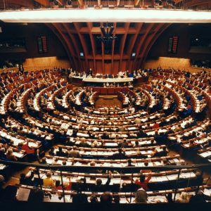 Euroopan parlamentti, Palais de l'Europe -rakennus Strasbourgissa.
