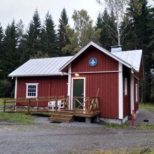 Scouternas stuga Davatorp i Trollböle, Ekenäs.