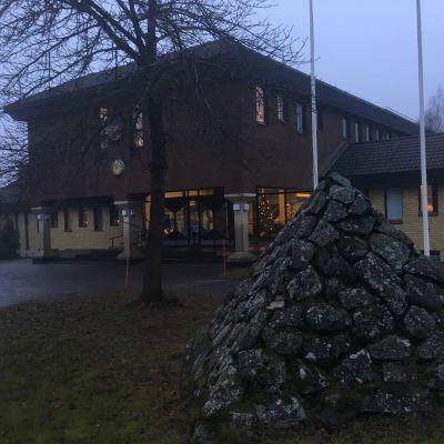Pomarkun kunnantalo.