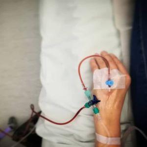 Järninfusion på gång.