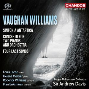 Bergenin filharmonisen orkesterin levy (Ralph Vaughan Williamsin musiikkia).