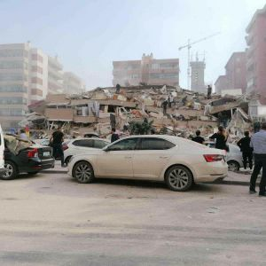 Jordskalv i Izmir 30.10.2020