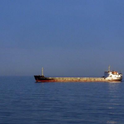 Ryskt tankfartyg på Östersjön.