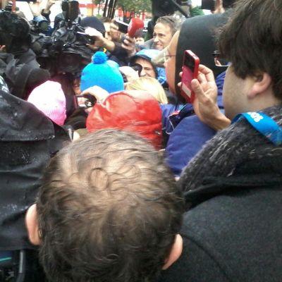 Pussy Riot släpptes från polisstationen i Adler.