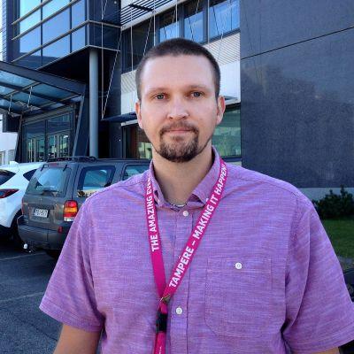 Microsoft Tampereen ylempien toimihenkilöiden luottamusmies Kalle Kiili