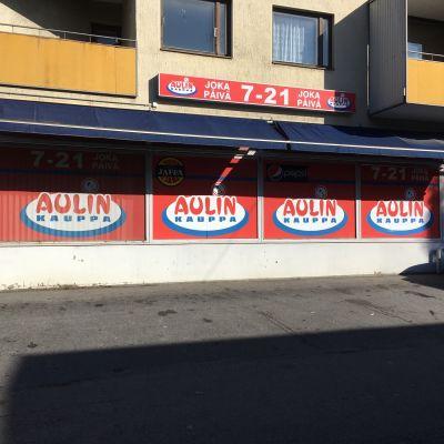 Seinäjoella sijaitseva Aulin kauppa ryöstettiin maanantaina 21.8.