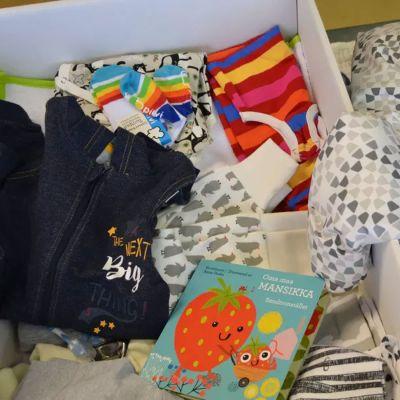 Moderskapsförpackningen mordell 2018.