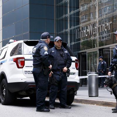 Etsintöjä New Yorkissa