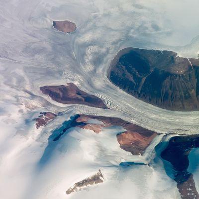 Baffininsaaren jäätikköä.
