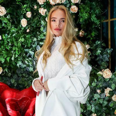 Elizaveta Peskova kuvattuna Moskovassa 27. joulukuuta 2018.