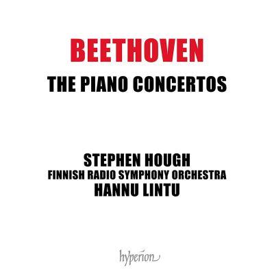 Beethoven: Piano Concertos / Stephen Hough, RSO & Lintu